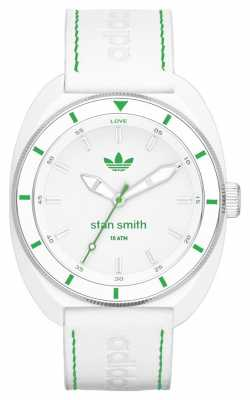 adidas Originals Unisex Stan Smith White Rubber Strap ADH2931