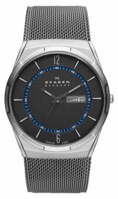 Skagen Mens Aktiv Grey Mesh Titanium Watch SKW6078