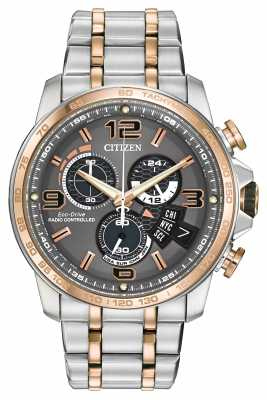 Citizen Chrono Time A-T Two Tone Mens BY0106-55H