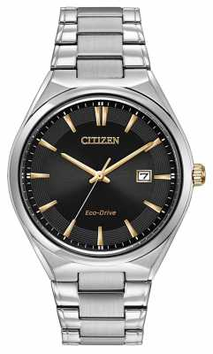 Citizen Mens Bracelet Eco-Drive Watch BM7310-56H