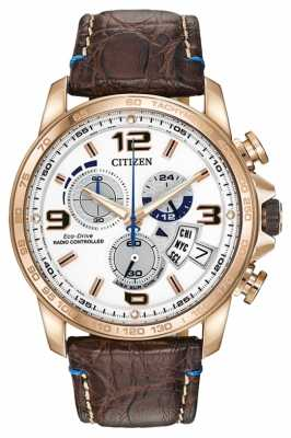 Citizen Limited Edition Chrono Time A-T Leather Strap BY0103-02A