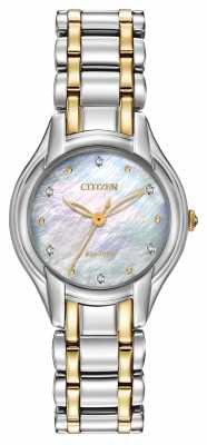 Citizen Womens Silhouette Diamond Watch EM0284-51D