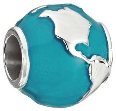 Chamilia Around The World - Teal Enamel 2020-0755