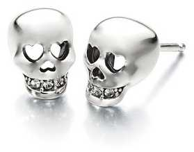 Chamilia Love You To Death Skull Earrings 1311-0001