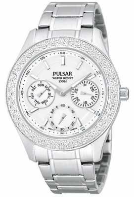 Pulsar Ladies' Multi Function Steel Dress Watch PP6117X1