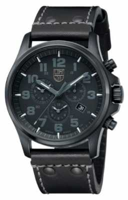 Luminox Atacama Field Chronograph Black Dial Black Leather A.1941.BO