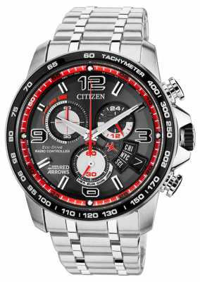 Citizen Red Arrows A-T Fifty Seasons Limited Edition  with Helmet BY0104-51E