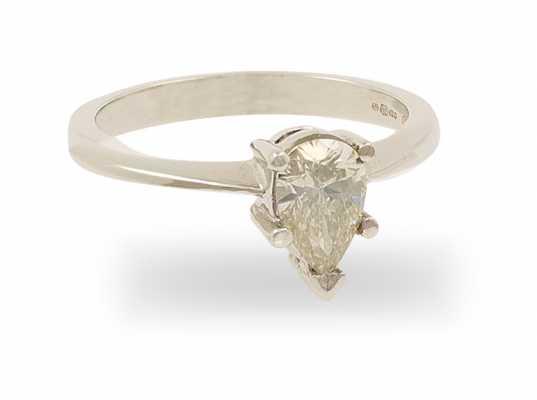 18ct 0.49ct Diamond Ring FCD00402