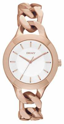 DKNY Ladies Chambers Rose Gold Watch NY2218