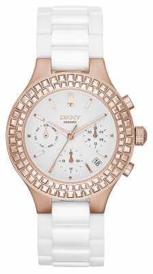 DKNY Chambers Ceramic Chronograph Watch NY2225