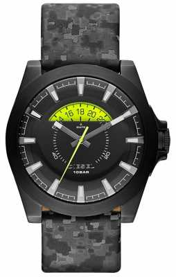 Diesel Mens Arges Black Camo Watch DZ1658
