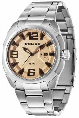 Police Mens Texas Watch 13836JS/04MA