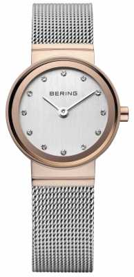 Bering Women's Classic Rose Gold-Tone Watch 10126-066
