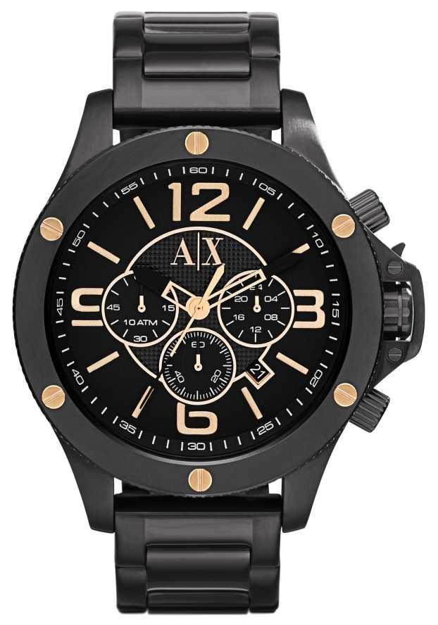 armani exchange mens ion plated watch ax1513 armani exchange ax1513