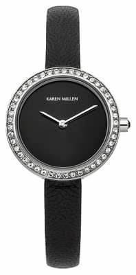 Karen Millen Ladies' All Black Classic Watch KM146B