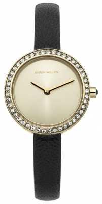 Karen Millen Ladies' Gold Tone Classic Watch KM146BG