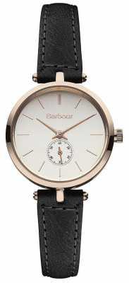 Barbour Lisle Black Leather Strap Watch BB011RSBK