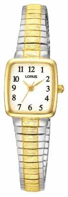 Lorus Two Tone Expanding Bracelet Watch RPH58AX9