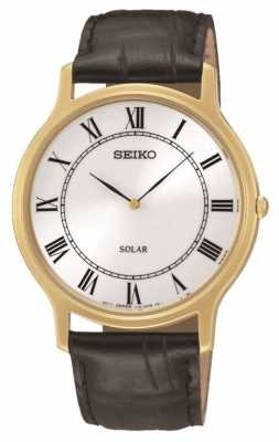 Seiko Mens Solar Powered Watch SUP878P1