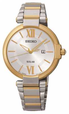 Seiko Womens' Solar Powered Watch SUT154P1
