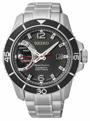 Seiko Mens Sportura Direct Drive Kinetic Watch SRG019P1