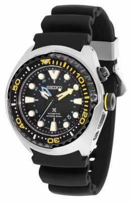 Seiko Prospex Kinetic GMT Mens Divers Watch SUN021P1