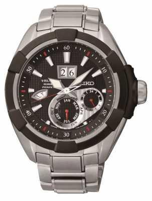 Seiko Mens Velatura Perpetual Kinetic Watch SNP101P1