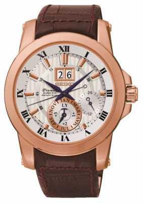 Seiko Mens Premier Kinetic Watch SNP096P1