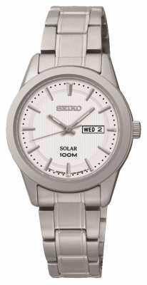Seiko Womens' Solar Powered Watch SUT159P1