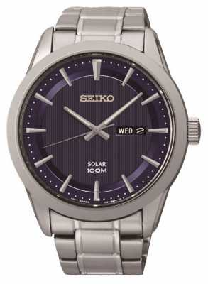 Seiko Mens Solar Powered Watch SNE361P1
