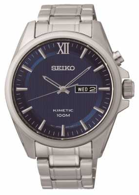 Seiko Mens Kinetic Watch SMY159P1