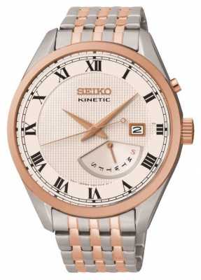 Seiko Mens Retrograde Kinetic Watch SRN060P1