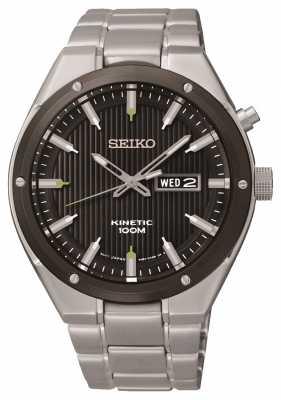 Seiko Mens Sports Kinetic Watch SMY151P1
