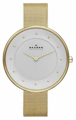 Skagen Ladies' Gold Tone Mesh Watch SKW2141