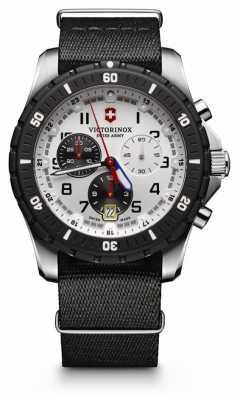 Victorinox Swiss Army Mens Maverick Sport Chrono Black & White Dial 241680.1