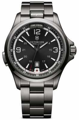Victorinox Swiss Army Mens Night Vision Grey Watch 241665
