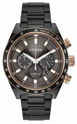 Citizen Sport Chronograph Gunmetal Eco-Drive CA4207-53H