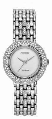 Citizen Silhouette Crystal Eco-Drive Watch EM0260-67A