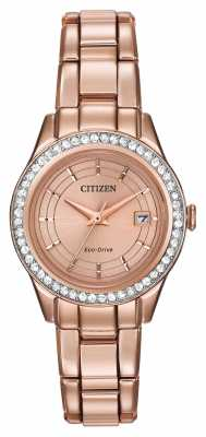 Citizen Silhouette Crystal Watch FE1123-51Q