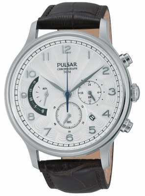 Pulsar Mens Chronograph Dress Watch PU6015X1