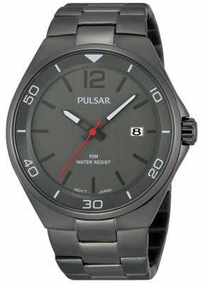 Pulsar Mens Grey Watch PS9327X1