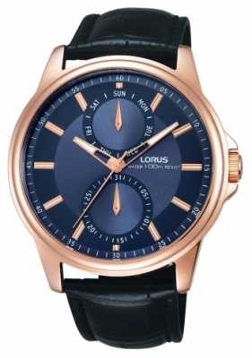 Lorus Mens Blue Dial Watch RX602AX9
