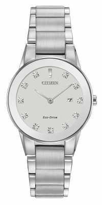 Citizen Womens Axiom Eco-Drive Stainless GA1050-51B