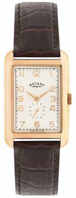 Rotary Portland Mens Rose Tone Dress Watch GS02699/01