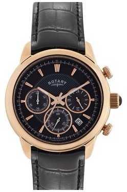 Rotary Monaco Mens Rose Gold Chronograph Watch GS02879/04