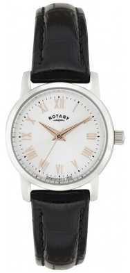 Rotary Sloane Ladies' Watch With Rose Tone Accents LS02460/06