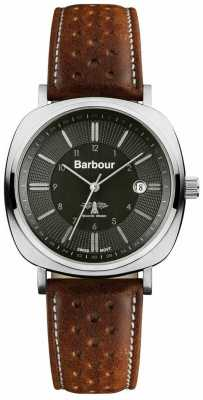 Barbour Mens Beacon Drive Tan Watch BB018SLTN