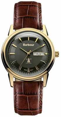 Barbour Unisex 42mm Gosforth Barbour Watch BB036GDBR