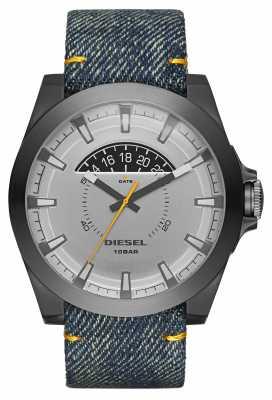 Diesel Mens Arges Blue Denim Watch DZ1689