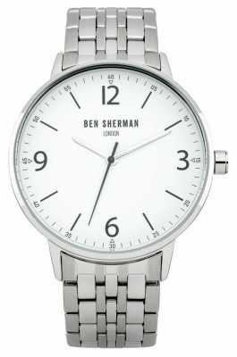 Ben Sherman Portabello Casual White Watch WB023SM
